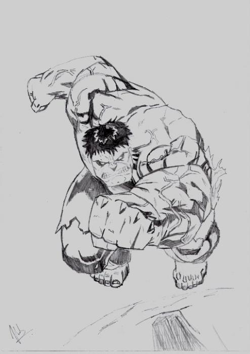 Hulk by Vinnysv